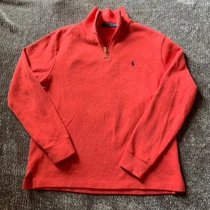 POLO Ralph Lauren Quarter Zip Cotton Sweater